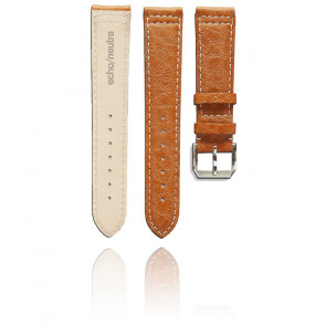 Bracelet Montre Marron Buffalo - Entrecorne 20 mm