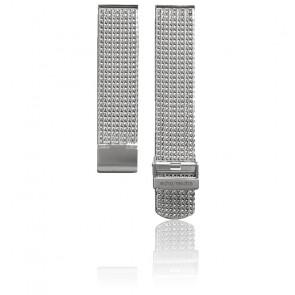 Bracelet Montre Gris Maille Milanaise Mesh - Entrecorne 20 mm
