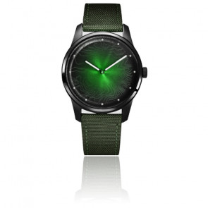 Montre Femme 36 mm Origins Green Witch