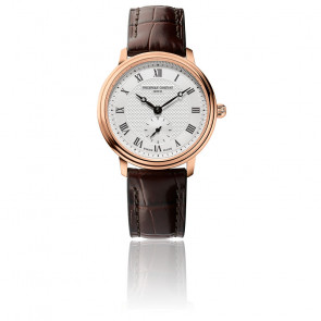 Montre Slimline Ladies Small Seconds FC-235M1S4