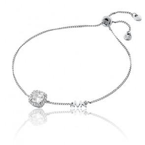 Bracelet Kors Brillance argent rhodié et zircons