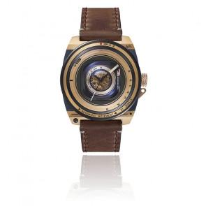Montre Automatique Vintage Lens II Gold Marron TS1803I