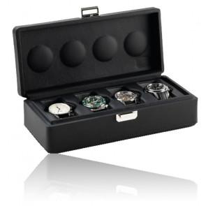 Boîte à montres Valigetta 4 Black 05002.BSIL