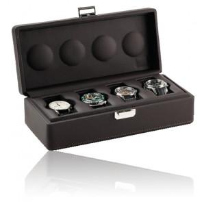Boîte à montres Valigetta 4 Chocolate 05002.MSIL