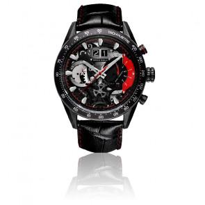 Montre Jolter Black Red G-7008-BK-R