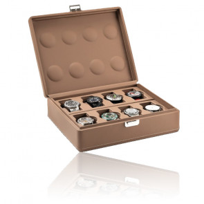 Boîte à montres Valigetta 8 Chestnut 05017.CSIL