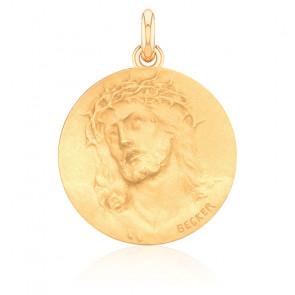 Médaille Christ Ecce Homo Or Jaune 18K