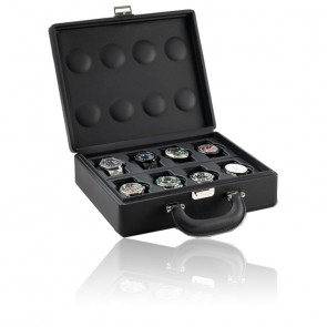 Boîte à montres Valigetta 8 Black 05013.BSIL