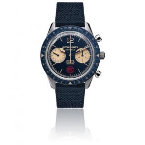 Montre Cortina 1956 Blue Chronograph