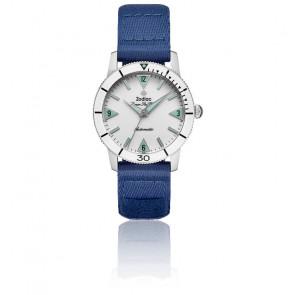 Montre Super Sea Wolf Bleu Blanc ZO9210