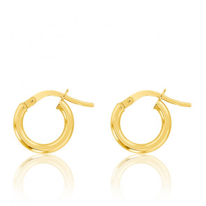 14k solide or jaune onyx Boucle d/'oreille Charms 10 mm #E693