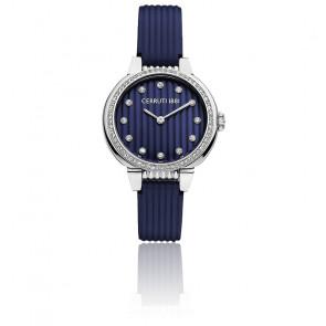 Montre Carinzia bleu argent CRM28207