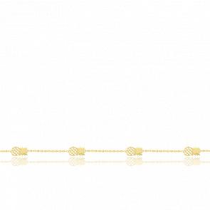 Bracelet ananas Or Jaune 9K