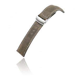 Bracelet Miltat Dark Brown Leather 20P18BDE13C1C52