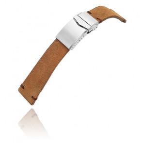Bracelet MiLTAT Camel Leather 20B16BCL20S6C75-AB
