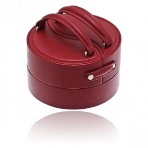 Boîte à bijoux Ying yang Euclide rouge
