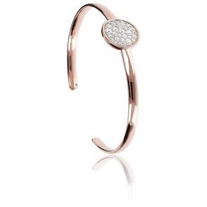 Bracelet pavé avec zirconiums