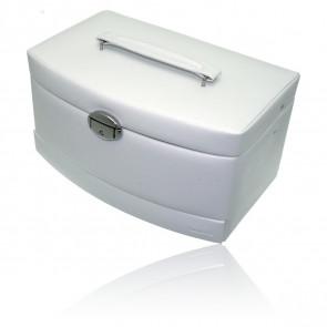 Boîte à bijoux Automatique L Euclide blanc