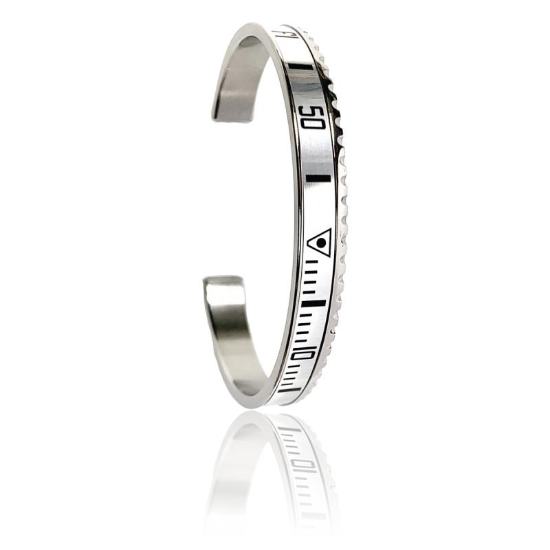 Bracelet STEEL White
