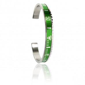 Bracelet Steel Green