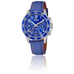 Montre Junior bleu chronographe 18581/6