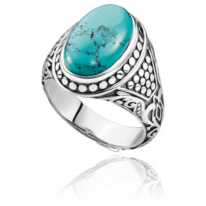 Bague turquoise - TR2241-878-17