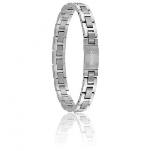 cherche bracelet homme argent