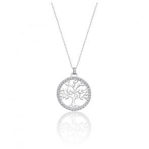 Collier arbre de vie, argent 925