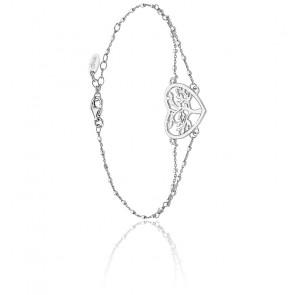 Bracelet cœur Tree Of Life, argent 925