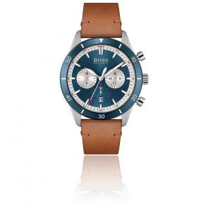 Montre Casual Santiago bleu marron 1513860