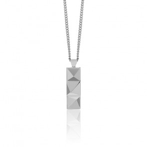 Collier In 'n' Out argent