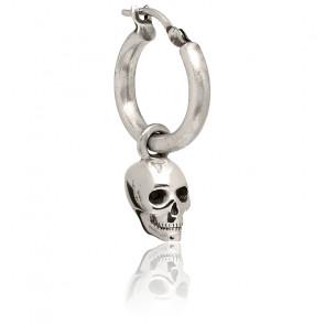 Créole Atticus Skull en argent
