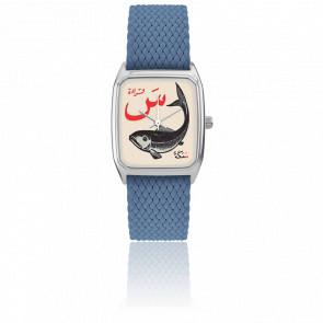 Montre Signature Samak Bleu de Paris 072-1S26-16S18