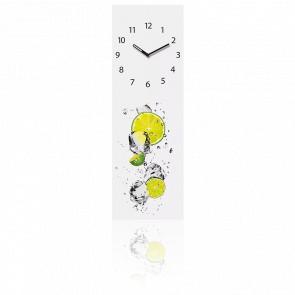 Horloge murale en verre - citron VP40056