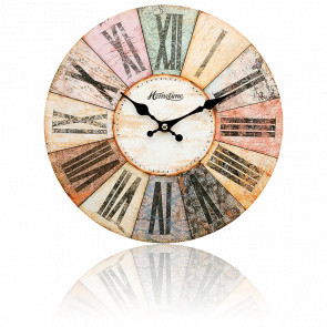 Horloge design vintage multicolore VP40086