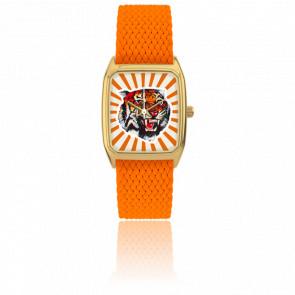 Montre Signature Bengale Orange 065-1G26-09G18