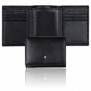 Porte-cartes Trifold Classicals noir fle0118/a