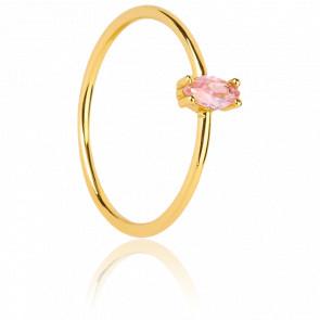 Bague Pink Eileen Gold