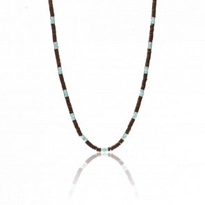 Collier perles Vintage Casual
