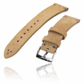 Bracelet en cuir suédé marron 20I16PBU63S6Q16