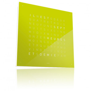 Qlocktwo Classic : Lime Juice QT4FRLJ (Français)
