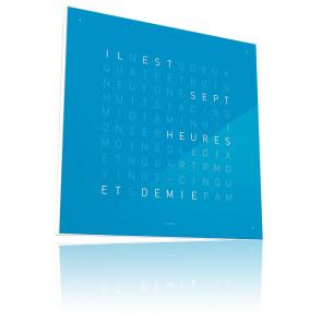 Qlocktwo Classic : Blue Candy QT4FRBC (Français)