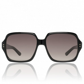 Lunettes de soleil carrées noires - verres dégradés - CL-400741-01F