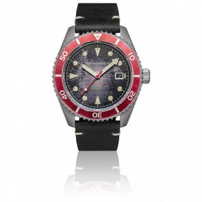 Montre Distressed Black SP-5089-01