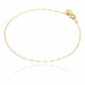 Bracelet or jaune 18k rythm