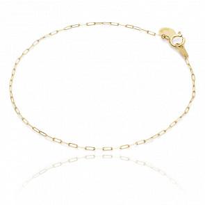 Bracelet or jaune 18k endless