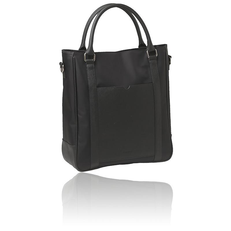 Sac cabas noir - shopping bag Parcours RTS503