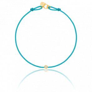 Bracelet or jaune energy cordon (choix couleur)