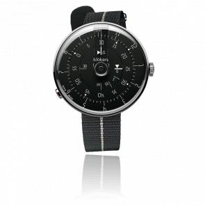 Montre KLOK-01-M2 - Cadran Noir