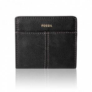 Porte-cartes Mila Bifold cuir noir SWL2416001